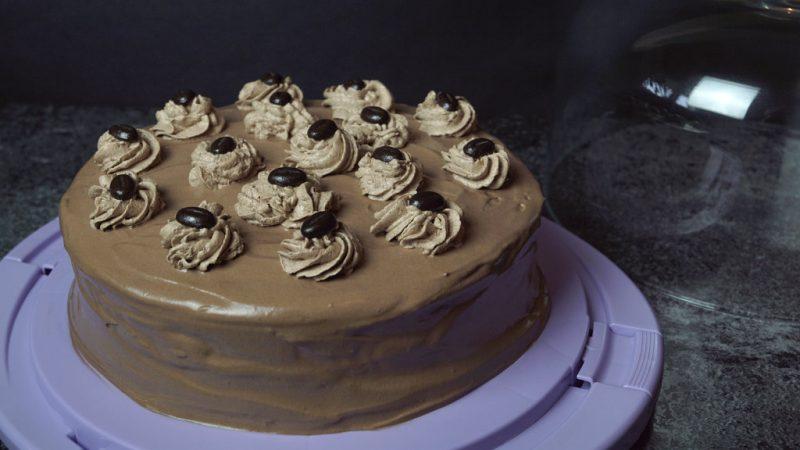 Nougat-Mokka-Torte | vegan