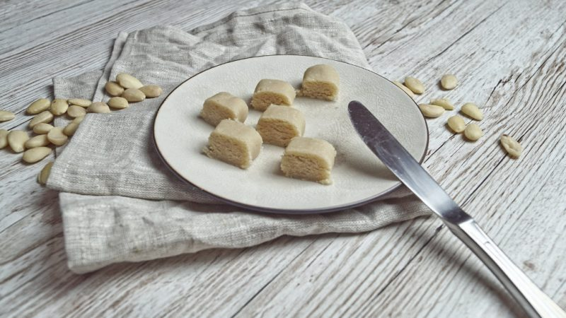Selbstgemachtes Marzipan